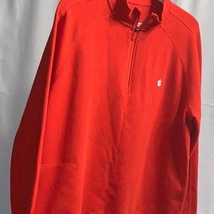 Apple Store Red Employee Logo pullover jacket Sz-L